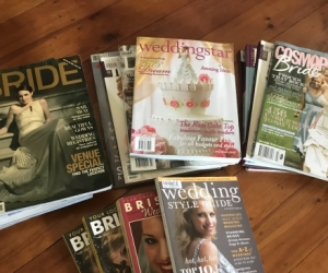 Wedding and Bridal Magazines x 18