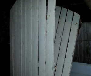 Driveway Gates made of wood