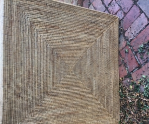 Large Wicker Square Basket