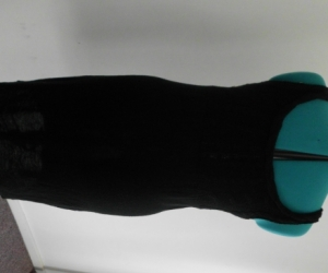 black dress/wool like
