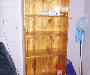 FREE Pine Bookcase