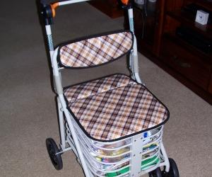 FREE Walker Seat Shopping Cart