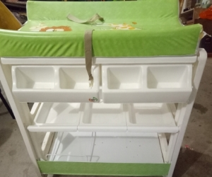 Used Baby change table and bath tub