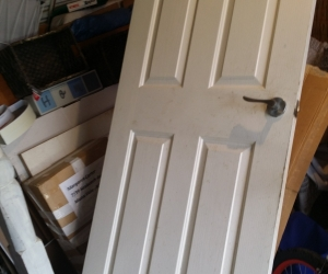 White Internal Door