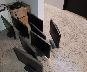 Monitors, Keyboards, Mice