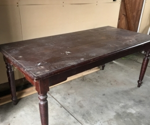 Dining  table- Great renovation project!