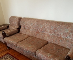 Couch and arm chairs