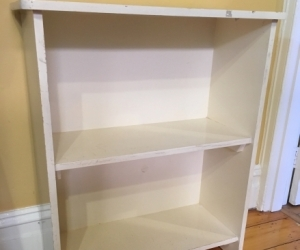 Bookshelf - waist-height