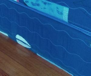 Used mattress and base