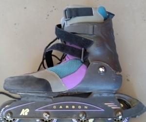 Inline skates, men's w pads