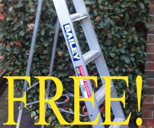 BAILEY 1.8 m ladder (perfect condition)