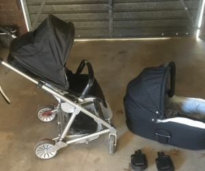 Mama Papa Urbo Stroller & Pram with accessories