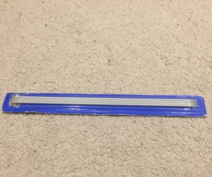 Double point knitting needle 2 mm (4 pieces)