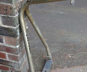 Old bike rack