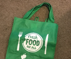 Your extra green bags