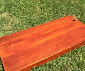 Timber desk