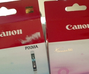 Canon Pixma 8 Photo Printer Ink tanks