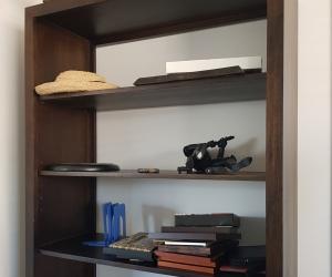Victorian ash bookshelf