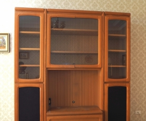 Cabinet cupboard shelving unit entertainment