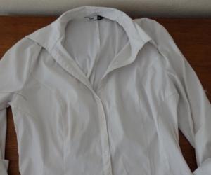 Boring white shirts