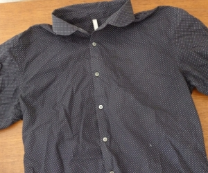 A collection of dark coloured shirts