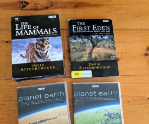 David Attenborough DVDs