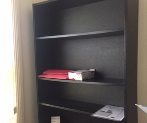 3 Black BookCases