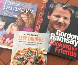 3 cooking books