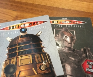 2 Doctor Who books