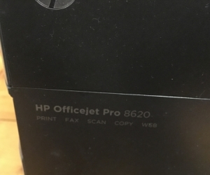 HP Printer 8620 (printer head problem)