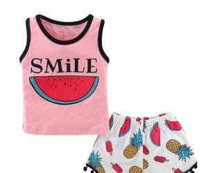 Smile melon outfit set