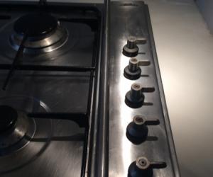 90cm SMEG natural gas cooktop