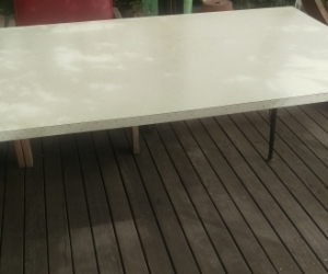 Retro Laminex Dining Table