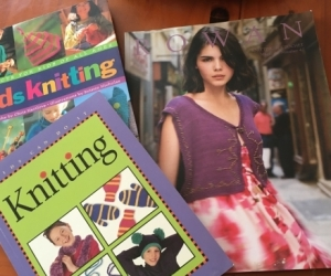 3 knitting books