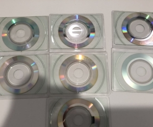 Business Card Size Writable CDs