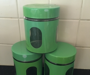 3 maxwells and Williams canisters