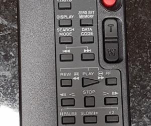 Sony Video Camera Remote