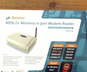ADSL2+ Routers and Switch