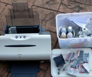 Canon i560 Printer and Inks