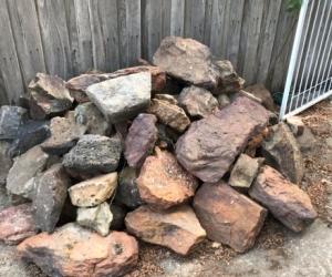 Garden rocks- Camberwell