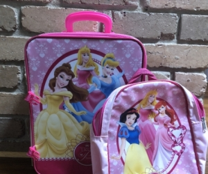 Pull along Princess Suitcase