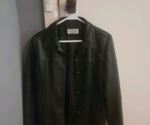 Womens leather jacket size small