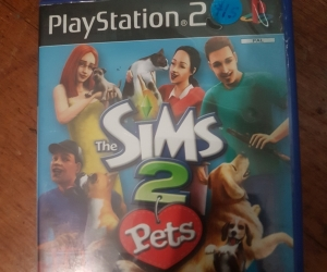 Sims 2 pets playstation 2 game
