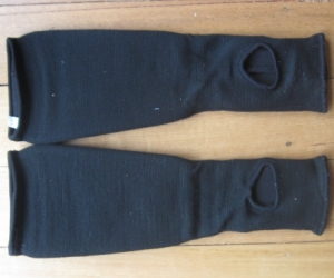 Martial arts - sparring - hand and shin protectors.