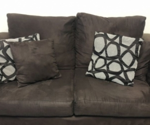 SOLD - FREE Lounge pack - 2 seater, 3-seater w/chaise and ottoman