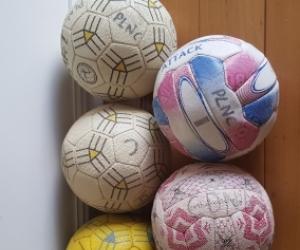 Used netball x5