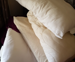 Old pillows
