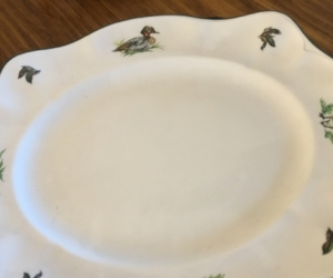 Bone china dinner service