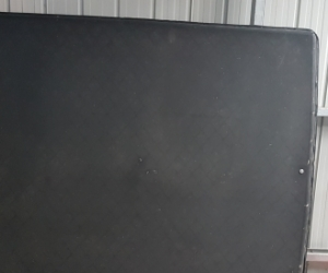 Ford Falcon ute black rear cover