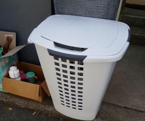 Large laundry basket